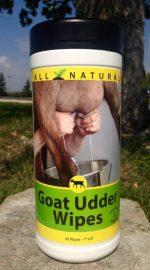 Goat Udder Wipes