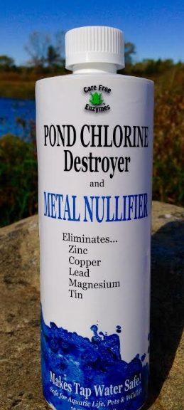 Pond Chlorine Destroyer